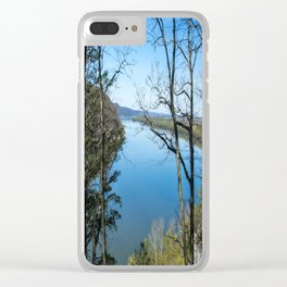 Through to the Susquehanna Clear iPhone Case