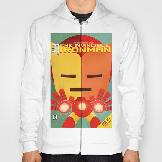 ironman fan art Hoody