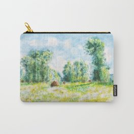 spring in Giverny Monet Claude Carry-All Pouch