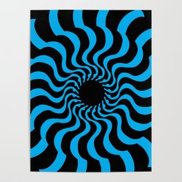 EYE 2(BLACK/BLUE) Poster