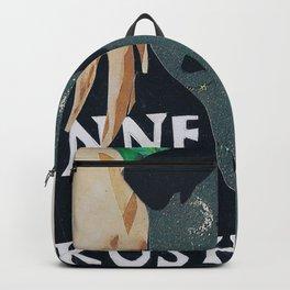 Collage Portrait Hennessy & Kush Girl Backpack