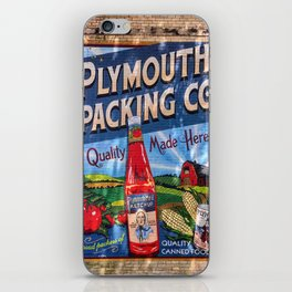 Plymouth Mural iPhone Skin