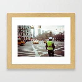 NYPD Framed Art Print