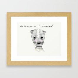 ms skunk Framed Art Print