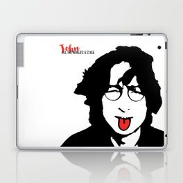 John Tongue Art Laptop & iPad Skin