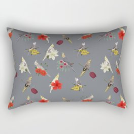 Cockatiels Galore Rectangular Pillow