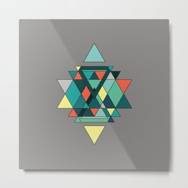 Abstract III Metal Print