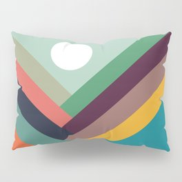 Rows of valleys Pillow Sham