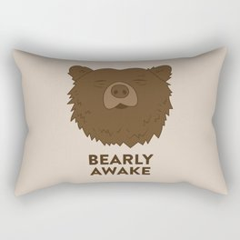 BEARLY AWAKE Rectangular Pillow