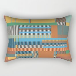 Scandinavian Moon (Nature Trail Colours) Rectangular Pillow