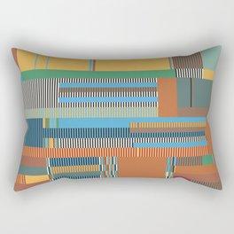 Scandinavian Moon (Nature Trail Colours) Rectangular Pillow