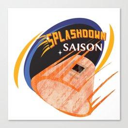 Splashdown Saison Canvas Print