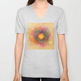 Sun fractal Unisex V-Neck