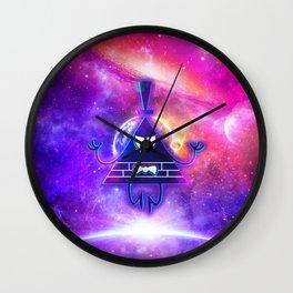 Mistical Pyramid - Enigmatic Space Wall Clock