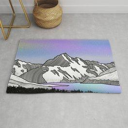 Aoraki Mount Cook Rug