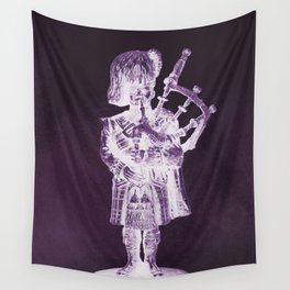 PURPLE PIPER Wall Tapestry