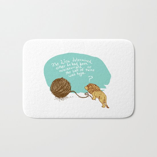 Unethical Mind Experiments on Miniaturized Animals Bath Mat