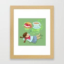 Cream Tea Framed Art Print