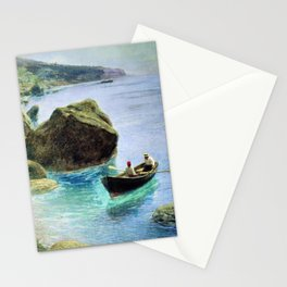 Simeiz 1899 By Lev Lagorio | Reproduction | Russian Romanticism Painter Stationery Cards
