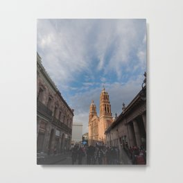 Zacatecas City  Metal Print