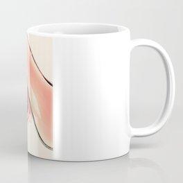 Pink Heel (Retro and Vintage Still Life Photography) Coffee Mug