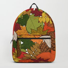 Autumnal Forest Treasures Backpack