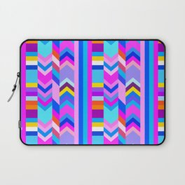 Striped Kilim in Cool Multi Laptop Sleeve
