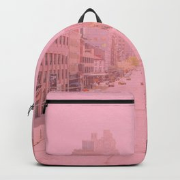 Rose Colored Village  Backpack