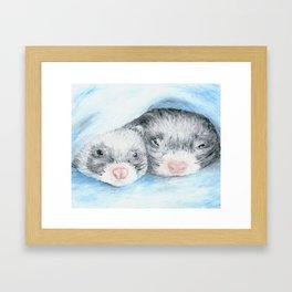 Dobby and Niffler Framed Art Print