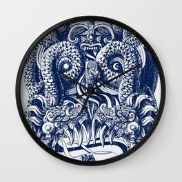 Tlaloc Wall Clock