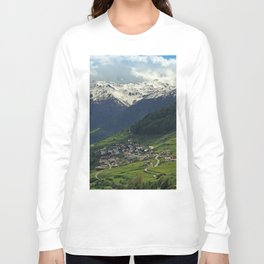 Val di Mazia in Alps, Italy Long Sleeve T-shirt
