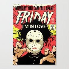 TFTS | Friday Canvas Print