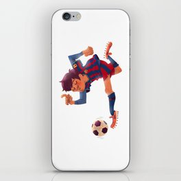 Lionel Messi, Barcelona Jersey iPhone Skin