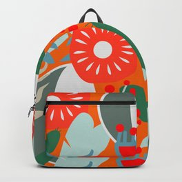 Cacti, fruits and flowers Backpack