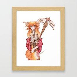 Pharmacy Fox / Pharmzie Fuchs Framed Art Print