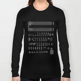Musical Notation Long Sleeve T-shirt