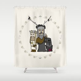 HOLY GRIAL  Shower Curtain