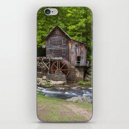 Glade Creek Grist Mill In Summer iPhone Skin