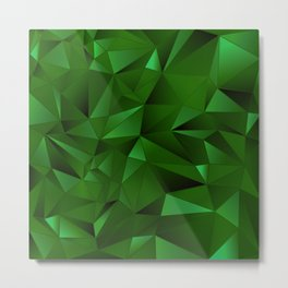 Rough Gems ~ Emerald Metal Print