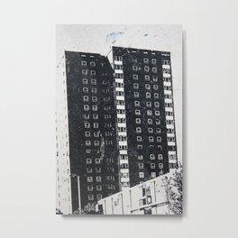 Urbanisation Metal Print