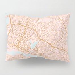 Oakland map, California Pillow Sham