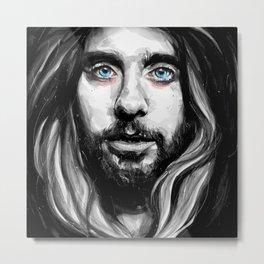 Jared Leto Metal Print