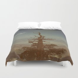 From Way Up Here Duvet Cover