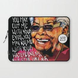 Maya Angelou Laptop Sleeve
