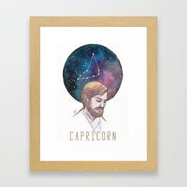 Constellations - Obi Wan Kenobi - Capricorn Framed Art Print