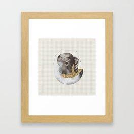 Constellation Girl Framed Art Print