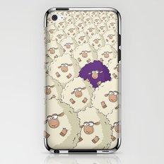 Sheep Pattern | Purple iPhone & iPod Skin
