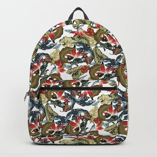 Tropical Sloth Backpack