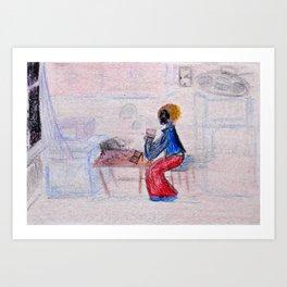Nights of You Art Print