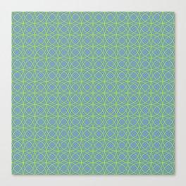 o x o - just circumferences - bg Canvas Print